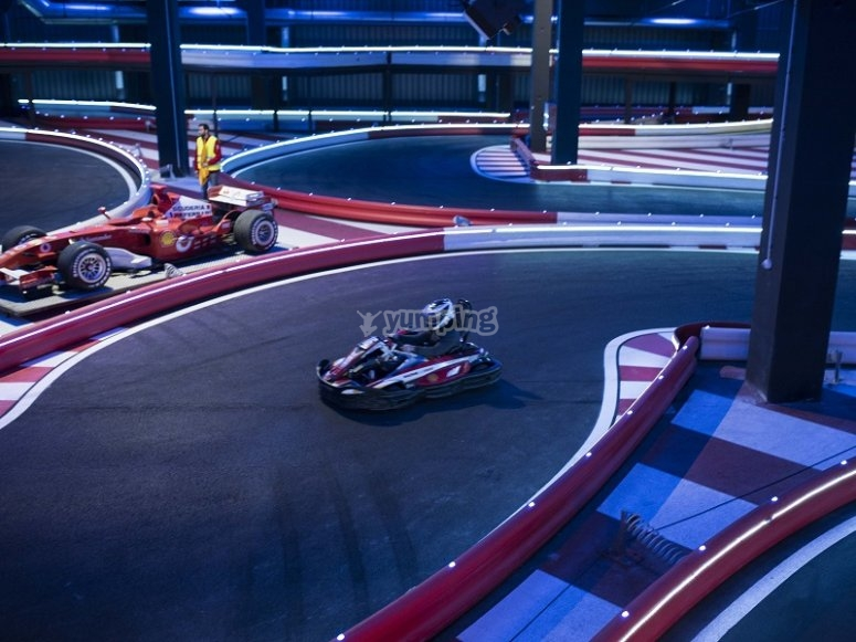 2 vueltas al circuito de Burjassot
