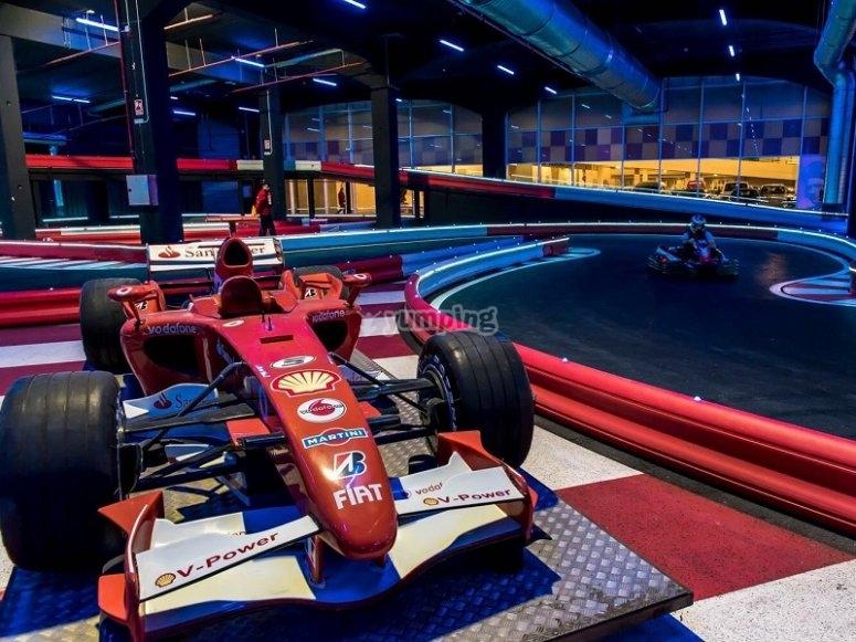 Sientete un piloto de Formula 1