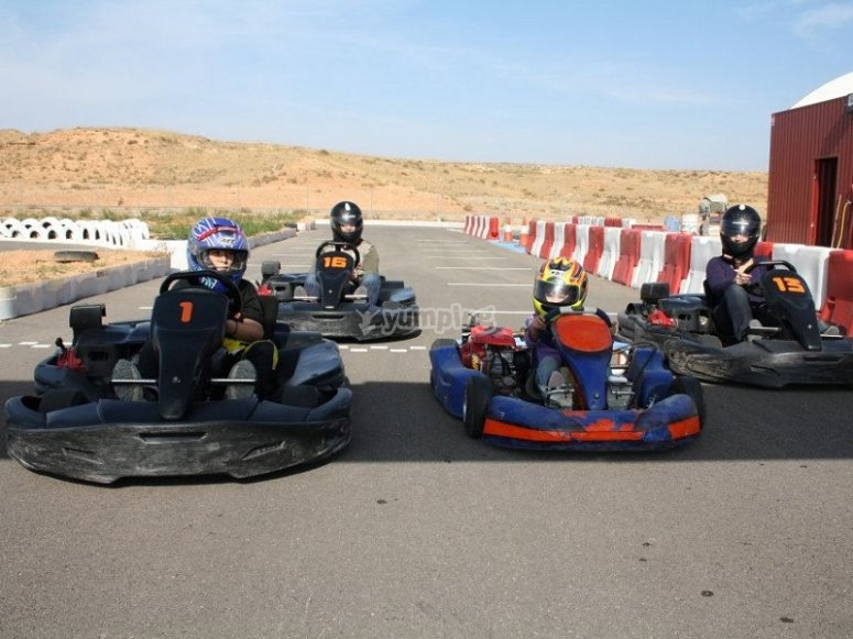 Competere con i kart