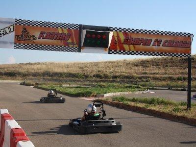 Karting round a Samper de Calanda 8 minuti
