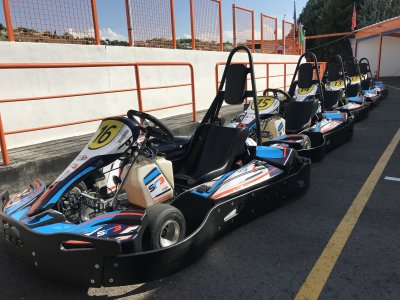 Karting adultos en Paracuellos de Jarama 1 Tanda