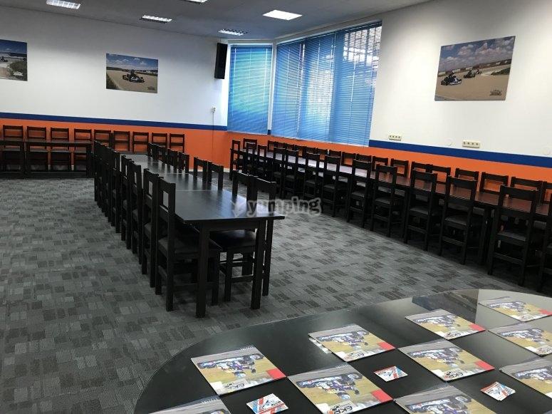 Sala de reuniones y eventos del circuito