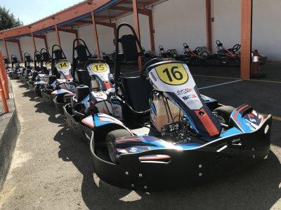 Team building en karting Paracuellos con menú
