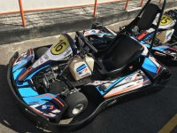 Monoplaza del karting