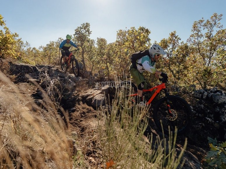 Aventura en mountain bike