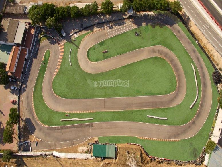 Nuestro circuito outdoor para karts en Torrejón de Ardoz