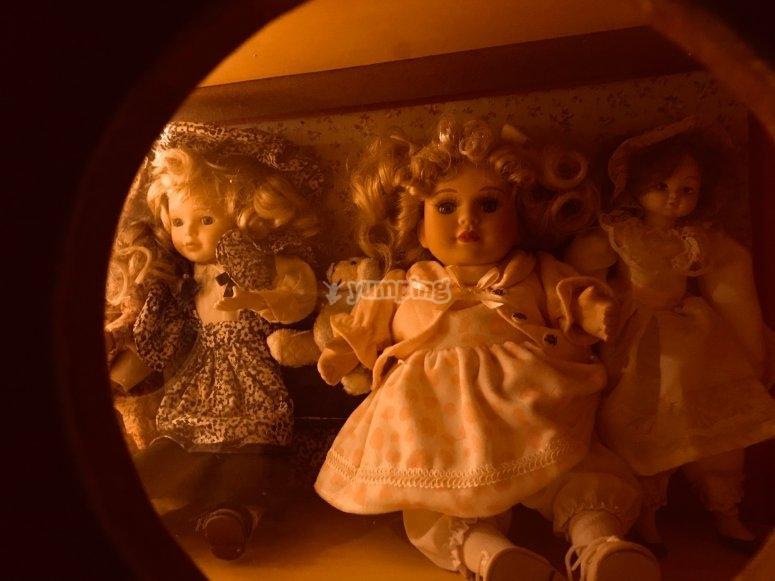 Muñecas intrigantes