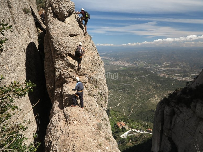 The best via ferrata in Barcelona