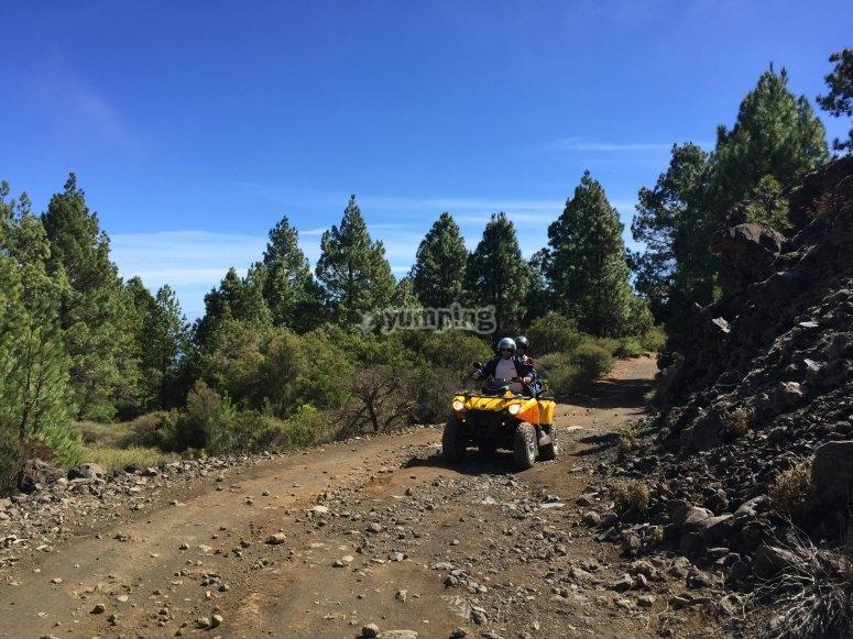 Enjoying the ride in La Cumbre