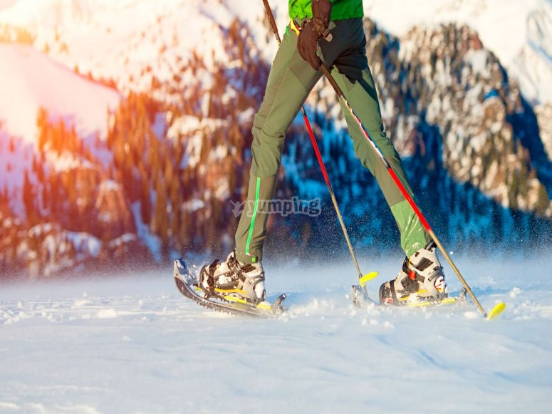 Deporte de invierno en Sierra Nevada
