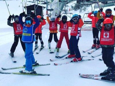 Campamento infantil de esquí en Valdesquí, 4 días