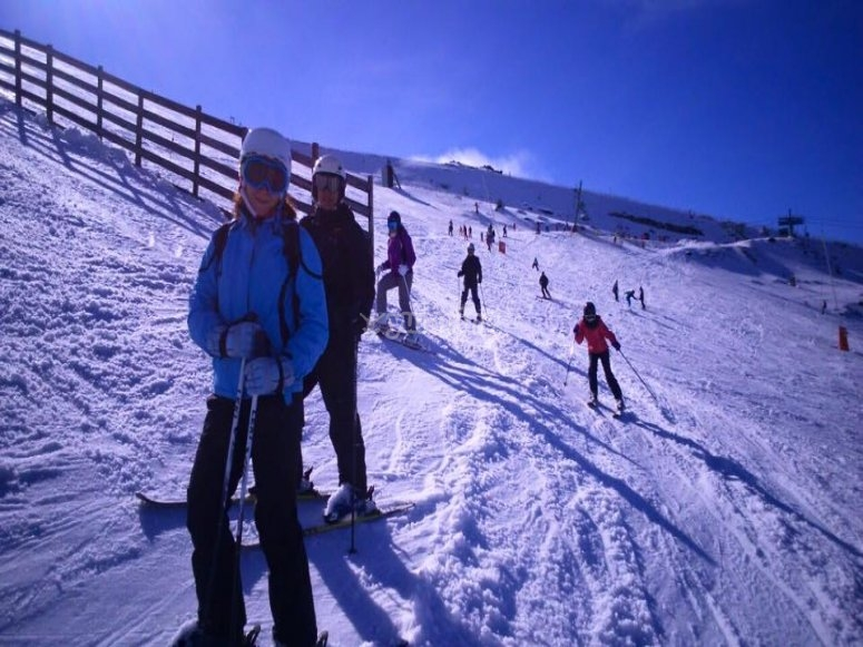 Domingos de ski yeti