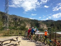 Vía Verde Val del Zafán Bicicleta Kayak 4 días