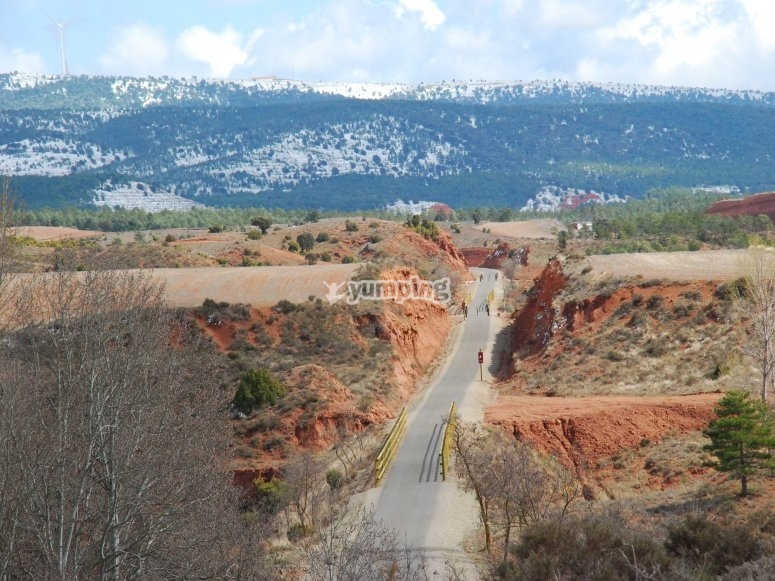 Caminos de montaña en bici