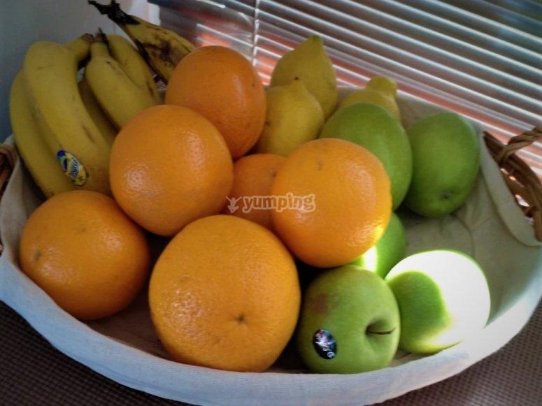 Prueba nuestra fruta de temporada