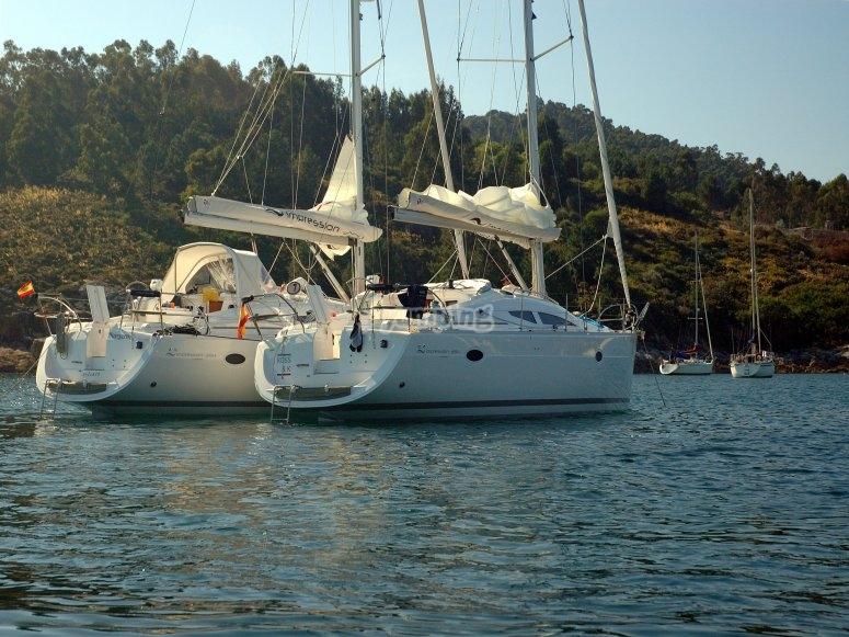 Navegando por las Rias Baixas
