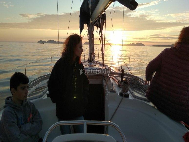 Días mágicos en el barco