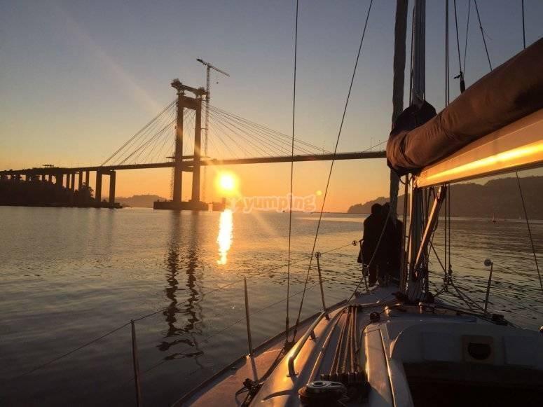 Las mejores puestas de sol de Pontevedra