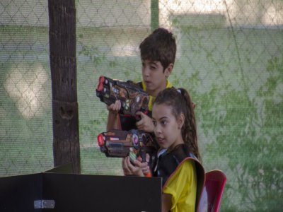 Birthday Laser Tag battle children in Málaga