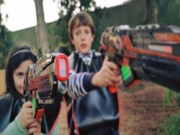 Cumpleaños con batalla láser para niños en Málaga