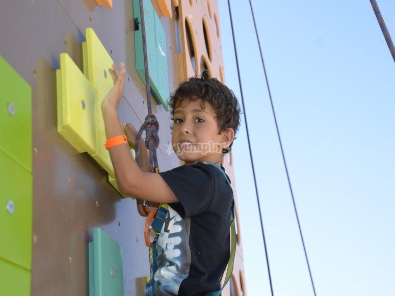Cumples con escalada