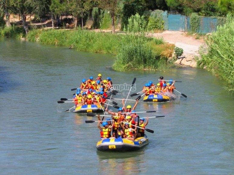 Rafting in Cieza