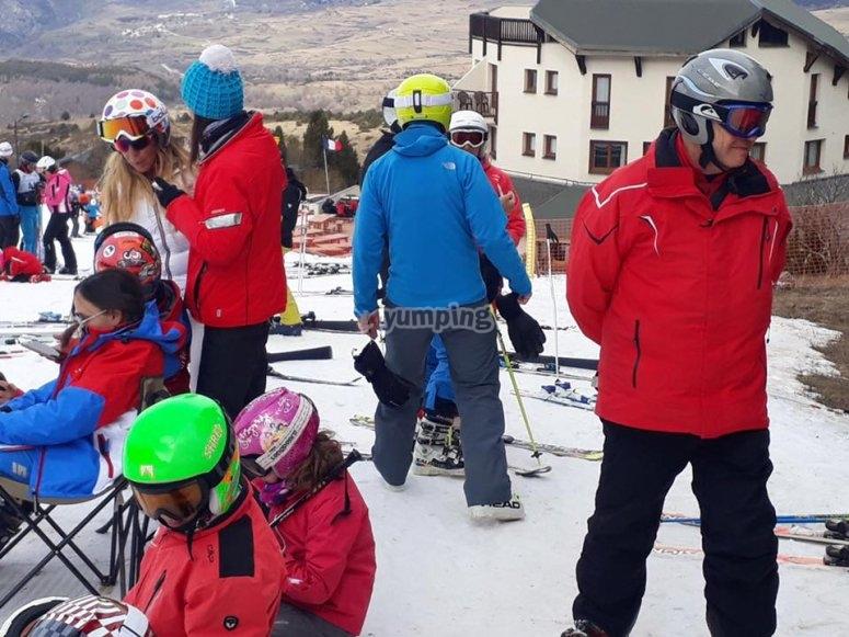 滑雪之友的课程