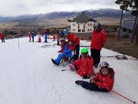 准备出去滑雪道