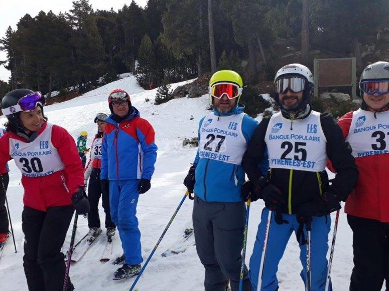 雪地团体课程