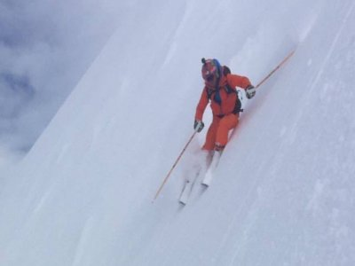 Clase con campeón europeo de esquí extremo,Porté