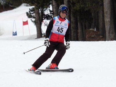 Esquí freeride en Porté, clase particular 1 hora