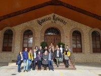Visitando bodegas en La Rioja