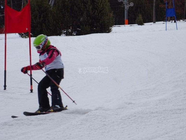 Curso de esqui de 3 dias