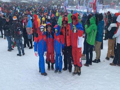 Curso de esquí grupal en Reyes Magos, Porté 3 días