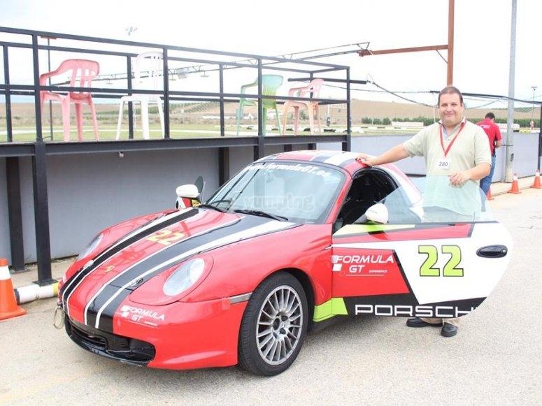 Sesion de pilotaje de Porsche