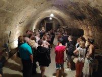 Visitando bodegas subterráneas de La Rioja