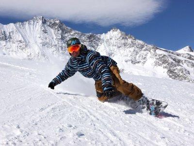 Aprende snowboard en Sierra Nevada, clase de 1 h