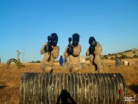Paintball for children with 100 balls in Cervera