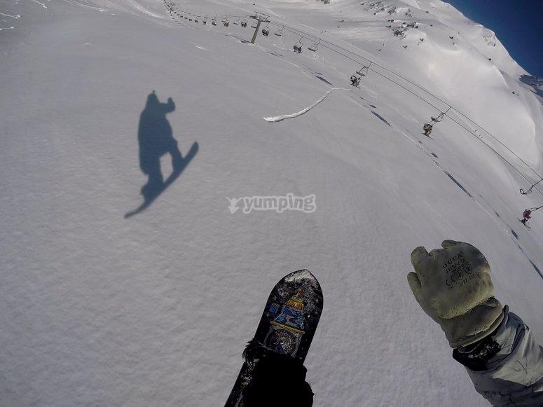 学习令人难以置信的雪地跳跃