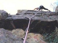 escalando paredes verticales