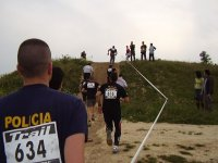carreraen el evento de team building