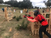 Attack in the field of paintball