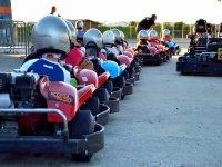 Tanda karting infantil en circuito outdoor Cartaya