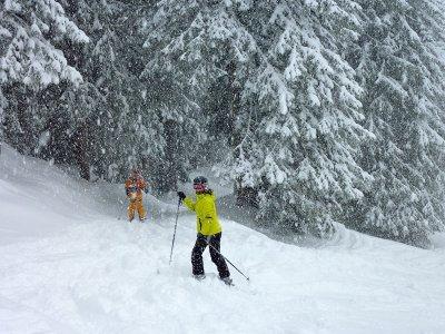 Pista da sci di fondo San Isidro livello base 3-4h