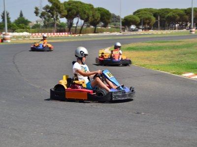 Karting Junior en Cartaya pista outdoor, 10 min