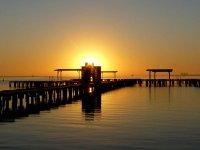 Enjoying sunsets of the Mar Menor