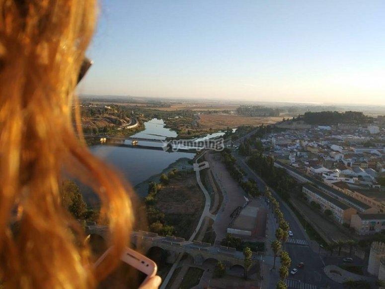 Guardando la città
