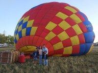 Paseo en globo sobre Cáceres y fotos oferta niños