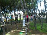 池绳索绳索公园