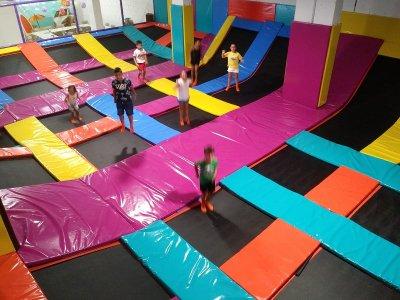 Session in trampolines Las Lagunas de Mijas 1h